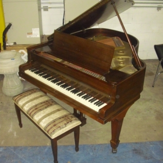 Baby Grand Piano Orlando Estate Sale