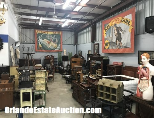 Orlando Estate Auction is where to sell antiques to antique buyers