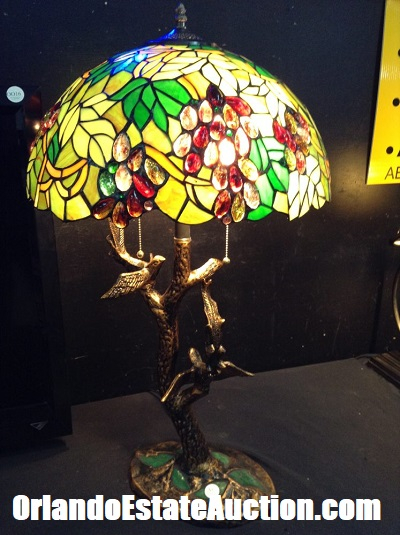 tiffany lamps estate sales orlando florida