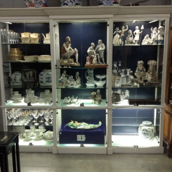 Porcelain and Sterling Orlando Sale