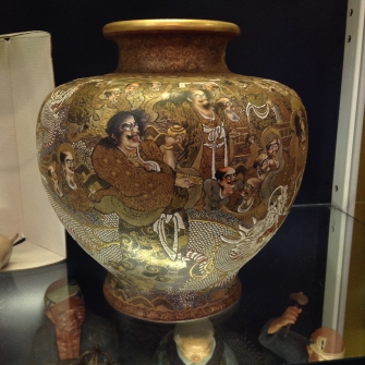 Chinese export antique vase