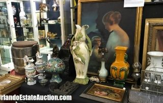 selling antique paintings at orlando estate auction