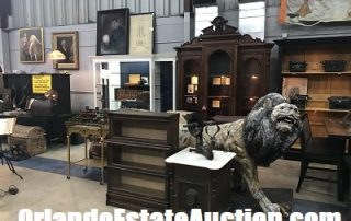 estate liquidation sale in orlando casselberry fl antiques and statues and art