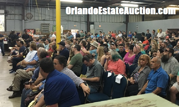 prepare for an estate auciton in orlanod florida