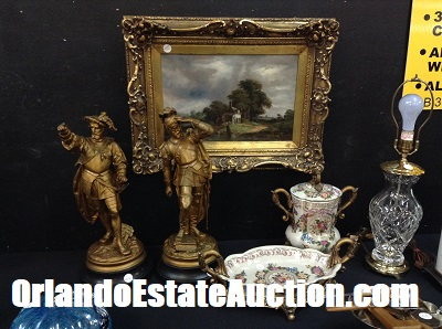 oviedo fl estate sale estate auction antique statues and painting