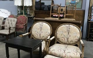 estate auction estate sale liquidation chairs and tables and antiques